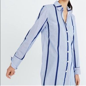 Madewell • blouse stripe top